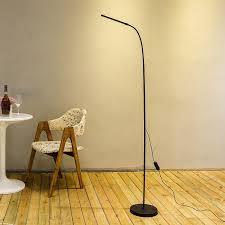 modern simple led floor standing lamp bedside floor lamp
