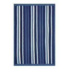 portsmouth stripe blue ultra wool braided rugs in usa