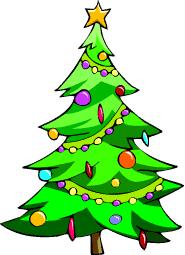pin Christmas Tree clipart cartoon #9