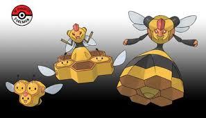 415 416 Combee Line By Inprogresspokemon Pokemon