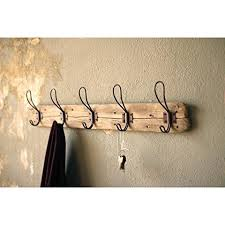 French Coat Rack Adorable Recycled Wood Coat Rack With Rustic Hooks Les Spectacles French