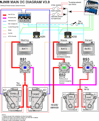 one starting battery for two engines page 3 original topic twin engine genset 3 batteries configuration at boatinghowto com showthre configuration