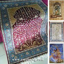 design persian silk tapestry handmade