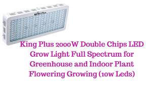 King 2000w Led Grow Light King Plus 2000w Led Grow Light Review Growyour420