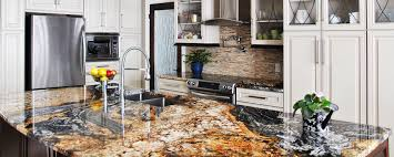 White Ice Granite Kitchen Countertops White Kitchen Island With Black Granite Top Also