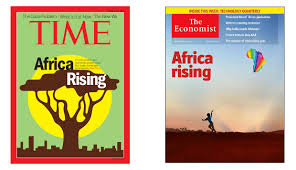 economist cover africa rising time runs with same title as now famous the