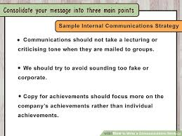 How To Write A Communications Strategy With Sample Strategies