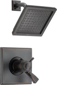 delta oil rubbed bronze shower head. Wonderful Rubbed Delta T17T251RB Dryden Tempassure 17T Series Shower Trim Venetian Bronze   Installation Kits Amazoncom To Oil Rubbed Head E