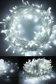 indoor christmas lighting. RPGT LED String Fairy Lights With 8 Light Effects, Ideal For Indoor/Outdoor Christmas Trees, Xmas,Garden Party,Wedding Events, Etc (White, Indoor Lighting I