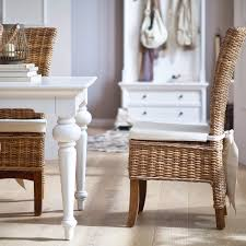 A Perfect Pairing White Wood Furniture And Rattan Hygge Home