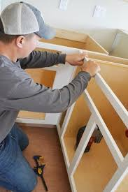 Video:How to Build Face Frames for Kitchen Cabinets   Easy DIY ...