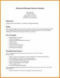 Resume Examples For Servers Free Resume Example And Writing Download