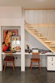 under stairs office. Under The Stairs Desk For Kids Homework Office