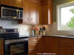 kitchen backsplash cherry cabinets black counter. Black Quartz Countertops White Subway Tile Backsplash Maple Cabinet - Google Search Kitchen Cherry Cabinets Counter