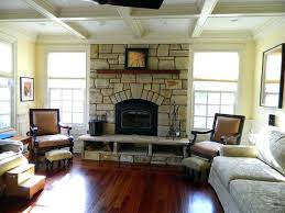 raised fireplace hearth photos wood stove ideas images