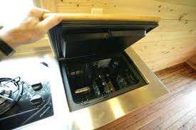 tiny house appliances. tiny house kitchen appliances for designs on the refrigerator is small but opens up like