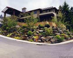 making the most of a sloped lot retaining walls for portland landscaping by susan hicks