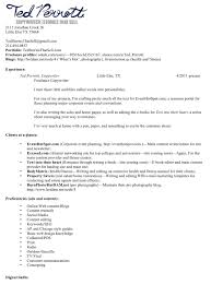 Writer Resume Samples Hvac Cover Letter Sample Hvac Cover Letter
