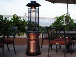 image of propane patio heater gas propane outdoor patio heater 45000 btu main picture webstaurant