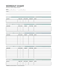 Exercise Program Templates Personal Trainer Workout Template Personal Training Plan
