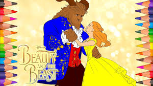 Small Picture Disneys Beauty and the Beast 2017 Coloring Book Pages Video for