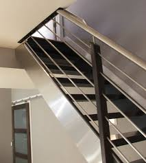 contemporary stair railing - Google Search