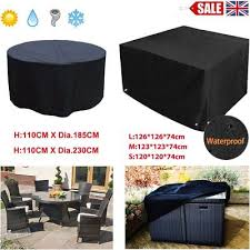 round table chair furniture cover outdoor waterproof garden patio