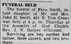 Obituary for Fern Smith - Newspapers.com