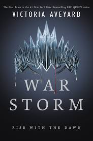 war storm cover courtesy of harpercollins share three years after her debut novel red queen victoria aveyard