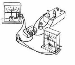 a step up transformer diagram of set up