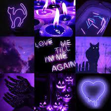 Dark purple aesthetic, Dark halloween ...