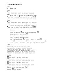 Amazing Grace Chords Top 500 Hymn Amazing Grace Lyrics