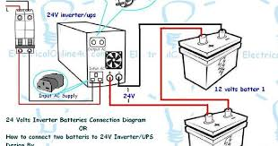 Inverter Output Wiring Diagram Direct Battery Power