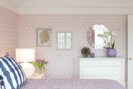 Exceptional Lavender Trellis Wallpaper Girls Bedroom