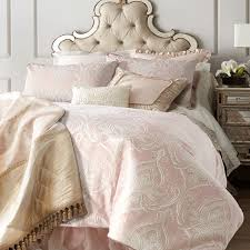 french jacquard pink duvet cover set