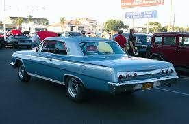 1962 Chevrolet Impala 2-Dr HT - light blue metallic - rvl ...