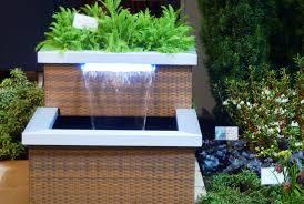modern outdoor fountains  aio contemporary styles  decorative