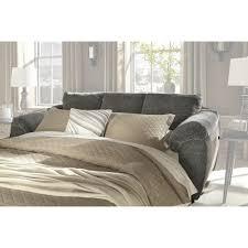 Ashley Furniture Azaline Sofa Sleeper in Slate Full