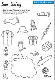 Small Picture Summer Safety Coloring Pages Water Page Google Search