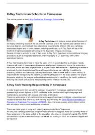 X Ray Technologist Resume. Radiologic Technologist Resume Resumedoc ...