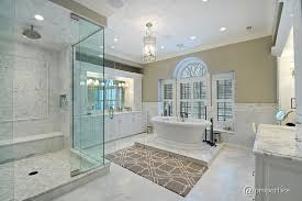 traditional master bathrooms. Traditional Master Bathrooms For Modern Concept Bathroom With Frameless Showerdoor Raised