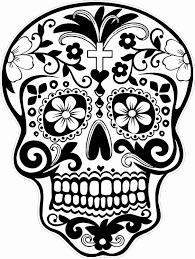 Dromenvanger Kleurplaat Mooi Day Of The Dead Dia De Los Muertos