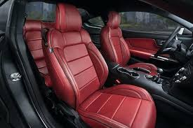 leather cover seats ford mustang red leather interior honda leather seat cover replacement