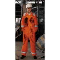 Blazetek Anti Static Flame Retardant Coverall Orange