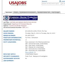 Resume For Customs And Border Protection Officer U S Customs 4 Resume Examples Pinterest Sample Resume Resume
