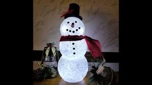 Lighted Snowman Snow Globe Diy Lighted Epsom Salt Snowman Made With Dollar Tree Glass Candleholders