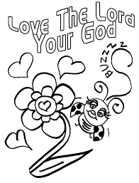 God Loves Me Coloring Pages Free Coloring God Love Coloring Pages