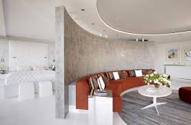 wall bathroom divider smart design studio interior partitions room zoning design ideas rounded divider of the re
