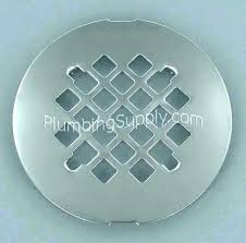 replacing shower drain cover remove shower drain cover how to remove shower drain cover without s