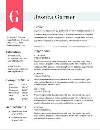 57 Best Resume Template Images On Pinterest Resume Templates